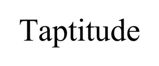 mark for TAPTITUDE, trademark #85738164
