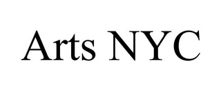 mark for ARTS NYC, trademark #85738309
