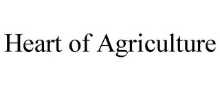mark for HEART OF AGRICULTURE, trademark #85738534