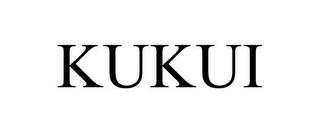 mark for KUKUI, trademark #85738556