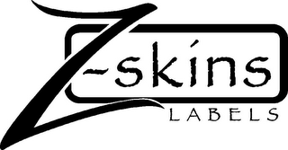 mark for Z-SKINS LABELS, trademark #85738659