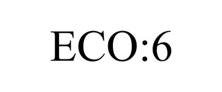 mark for ECO:6, trademark #85738832