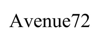 mark for AVENUE72, trademark #85738835
