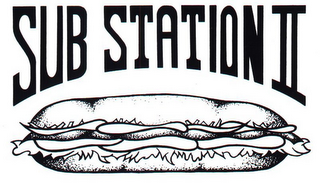 mark for SUB STATION II, trademark #85738896