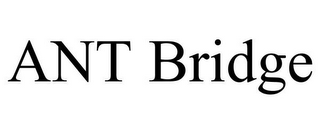 mark for ANT BRIDGE, trademark #85739161