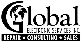 mark for GLOBAL ELECTRONIC SERVICES INC. REPAIR · CONSULTING · SALES, trademark #85739184