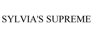 mark for SYLVIA'S SUPREME, trademark #85739286