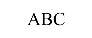 mark for ABC, trademark #85739308