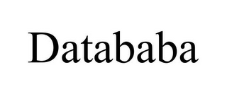 mark for DATABABA, trademark #85739432