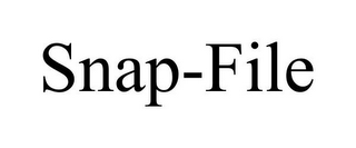 mark for SNAP-FILE, trademark #85739485