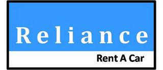 mark for RELIANCE RENT A CAR, trademark #85739496