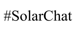 mark for #SOLARCHAT, trademark #85739551