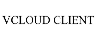 mark for VCLOUD CLIENT, trademark #85739588