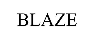 mark for BLAZE, trademark #85739735