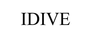 mark for IDIVE, trademark #85739800