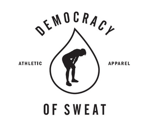 mark for DEMOCRACY OF SWEAT ATHLETIC APPAREL, trademark #85739933