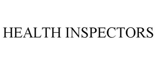 mark for HEALTH INSPECTORS, trademark #85739957