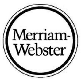 mark for MERRIAM-WEBSTER, trademark #85740138