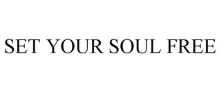 mark for SET YOUR SOUL FREE, trademark #85740235