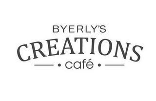 mark for BYERLY'S CREATIONS CAFÉ, trademark #85740247