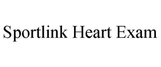 mark for SPORTLINK HEART EXAM, trademark #85740336