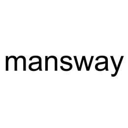 mark for MANSWAY, trademark #85740500
