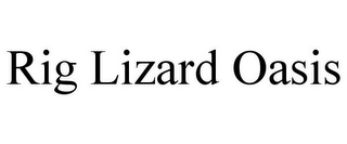 mark for RIG LIZARD OASIS, trademark #85740830