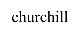 mark for CHURCHILL, trademark #85740987
