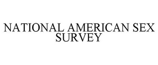 mark for NATIONAL AMERICAN SEX SURVEY, trademark #85741166