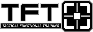 mark for TFT TACTICAL FUNCTIONAL TRAINING, trademark #85741303