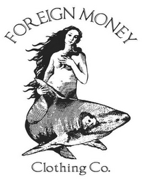 mark for FOREIGN MONEY CLOTHING CO., trademark #85741391