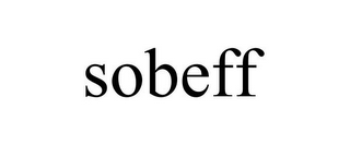 mark for SOBEFF, trademark #85741417