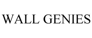mark for WALL GENIES, trademark #85741605