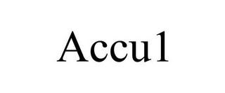 mark for ACCU1, trademark #85742000