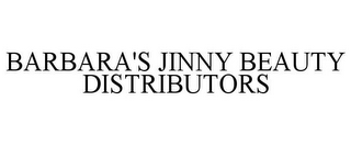 mark for BARBARA'S JINNY BEAUTY DISTRIBUTORS, trademark #85742018