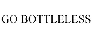 mark for GO BOTTLELESS, trademark #85742124
