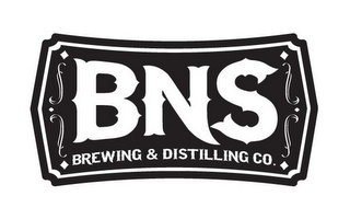 mark for BNS BREWING & DISTILLING CO., trademark #85742280