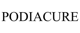 mark for PODIACURE, trademark #85742302