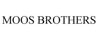 mark for MOOS BROTHERS, trademark #85742331