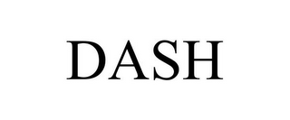 mark for DASH, trademark #85742355