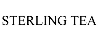 mark for STERLING TEA, trademark #85742509