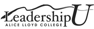 mark for ALICE LLOYD COLLEGE LEADERSHIP U, trademark #85742612