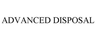 mark for ADVANCED DISPOSAL, trademark #85742667