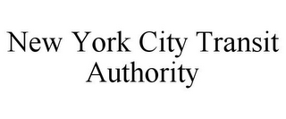 mark for NEW YORK CITY TRANSIT AUTHORITY, trademark #85742671
