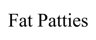 mark for FAT PATTIES, trademark #85742761