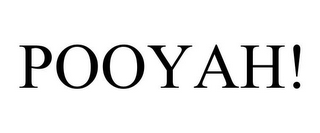 mark for POOYAH!, trademark #85742768