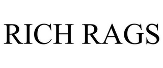 mark for RICH RAGS, trademark #85743061