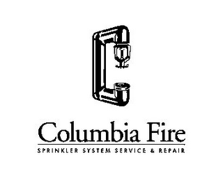 mark for COLUMBIA FIRE SPRINKLER SYSTEM SERVICE & REPAIR, trademark #85743127