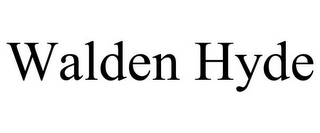 mark for WALDEN HYDE, trademark #85743468