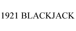 mark for 1921 BLACKJACK, trademark #85743502